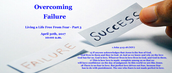 Overcoming Failure
