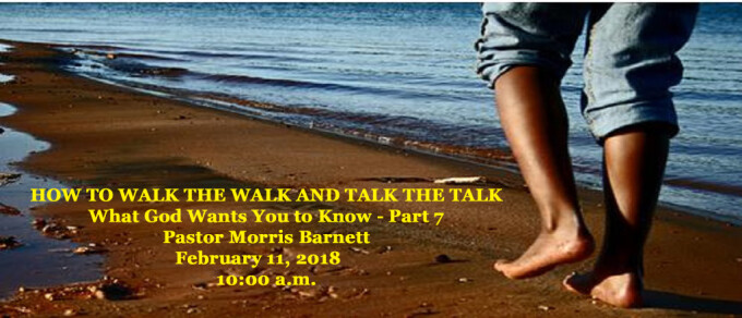 HOW TO WALK THE WALK AND TALK THE TALK