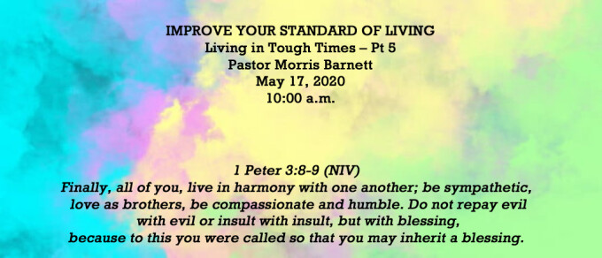 Improve Your Standard of Living