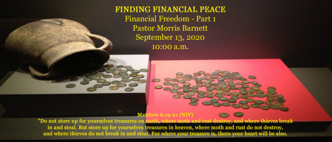 FINDING FINANCIAL PEACE
